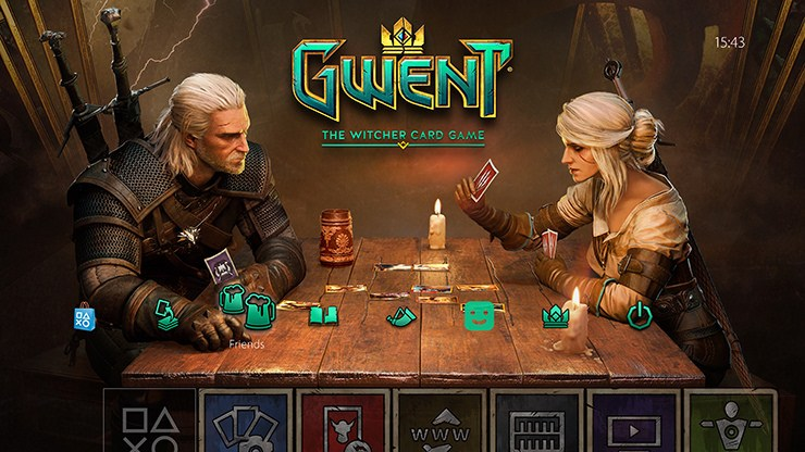 Gwent : The Witcher Card Game. Les cartes chez les Witcher!