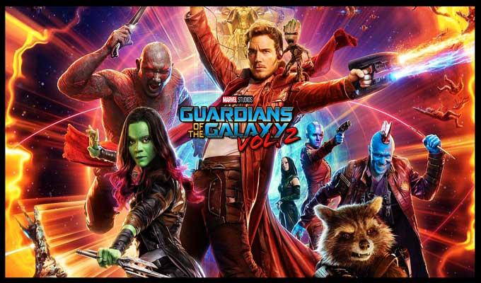 Les Gardiens de la Galaxie volume deux. Le MCU dans toute sasplendeur!