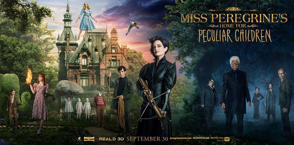 Miss Peregrine et les Enfants Particuliers : Eva Green et lesX-Men!