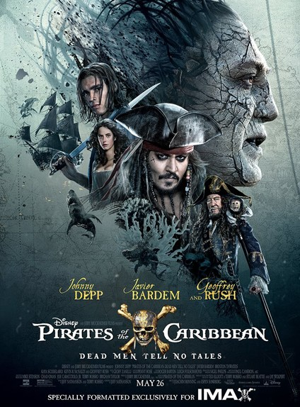 Pirates des Caraïbes : la vengeance de Salazar. Un remake du premierépisode?