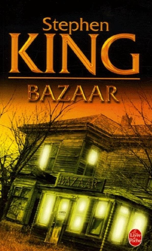 Bazaar : une oeuvre de Stephen King quidérange